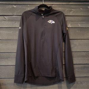NWT Baltimore Ravens Under Armour 1/4 Zip Pullover